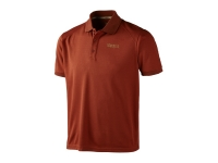Härkila Gerit Poloshirt - Burnt orange