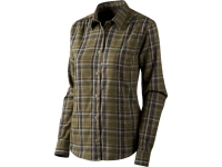 Seeland Vicka Lady Hemd - Shaded Olive Check