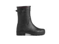 Le Chameau Giverny Jersey Lined Low Boot - Schwarz