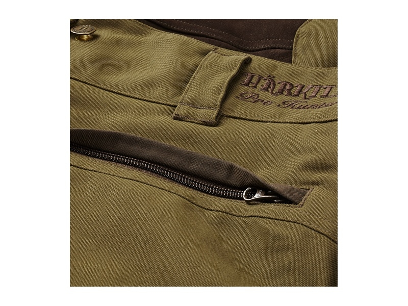 Härkila Pro Hunter X Leather Hose - Lake green/Shadow brown