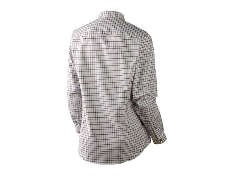 Härkila Lancaster Lady Bluse - Blackberry check
