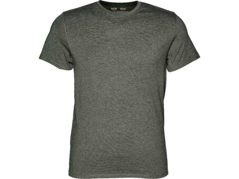 Seeland Basic T-Shirt 2er-pack - Moose Brown/Forest Night