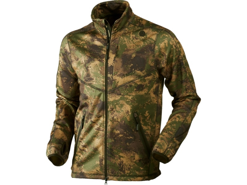 Härkila Lynx Fleecejacke - Axis MSP Forest Green