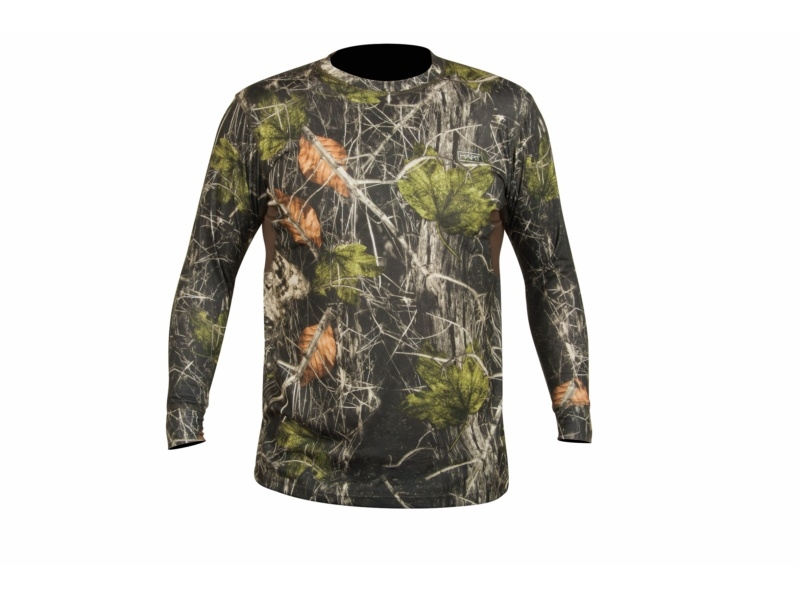 Hart Hunting CREW-L Shirt - Camo Forest